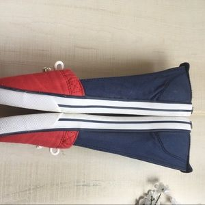 cb010a9f6c9 Tommy Hilfiger Shoes - Tommy Hilfiger Classic Red   Navy Boat Shoes Flats